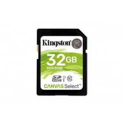 32 GB SDXC karta Kingston . Class 10 UHS-I ( r80MB/s, w10MB/s ) SDS/32GB