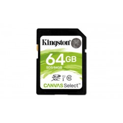 64 GB SDXC karta Kingston Class 10 UHS-I ( r80MB/s, w10MB/s ) SDS/64GB