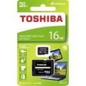 16 GB microSDHC karta Toshiba Class 10 UHS + adaptér THN-M203K0160EA