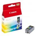 Atramentová náplň CANON CLI-36 color 1511B001 originál