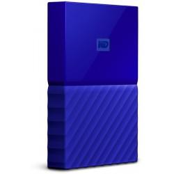 """WD MY Passport 2,5"""" Externý HDD 1 TB USB 3.0, modrá WDBYNN0010BBL-WESN"""
