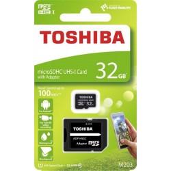 32 GB microSDHC karta Toshiba Class 10 UHS + adaptér THN-M203K0320EA