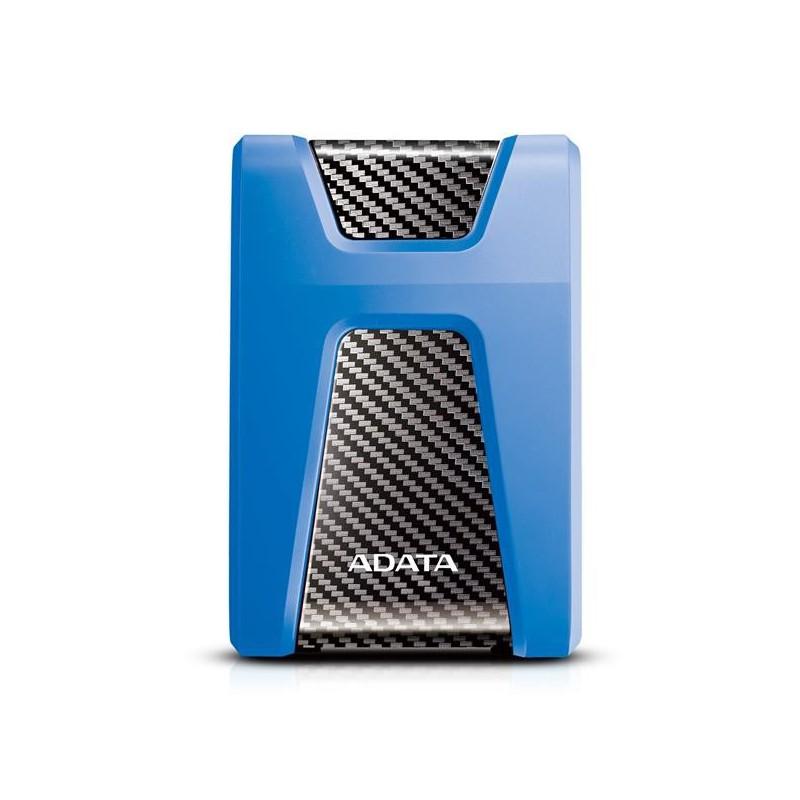 "A-DATA DashDrive™ Durable HD650 2,5"" externý HDD 1TB USB 3.0 modrý, vode a nárazom odolný AHD650-1TU31-CBL"