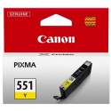 Cartridge CANON CLI-551Y yellow 6511B001