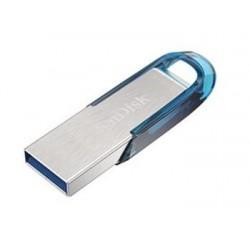 SanDisk Ultra Flair™ USB 3.0 128 GB tropická modrá SDCZ73-128G-G46B