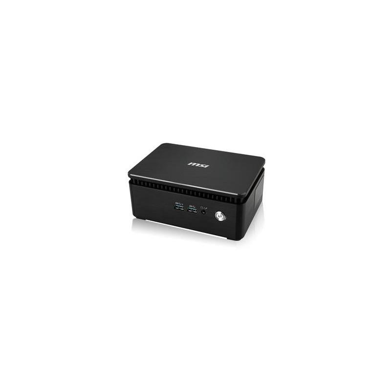 MSI PC Cubi 3 Silent S-005BEU/ i3-7100U Kabylake/HD Graphics 620/HDMI/BT/DP/Bez OS/black