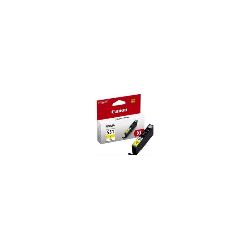 Cartridge CANON CLI-551Y XL yellow 6446B001