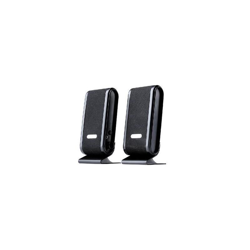 GEMBIRD Reproduktory TRACER 2.0 Quanto BLACK USB HIFTC1051