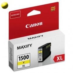 Cartridge CANON PGI-1500XL Y 9195B001