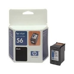HP Cartridge C6656A 5550 BLACK 56 C6656AE