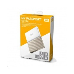 External HDD WD My Passport Ultra 2,5' 1TB Gold Worldiwde WDBTLG0010BGD-WESN