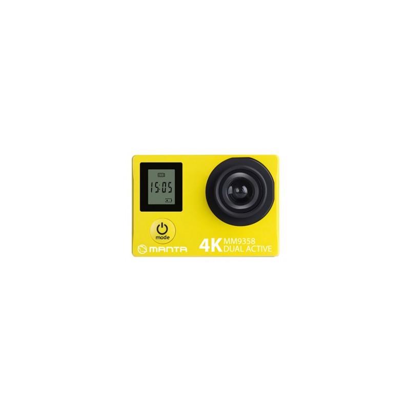 MANTA Športová kamera 4K WiFi DUAL ACTIVE MM9358