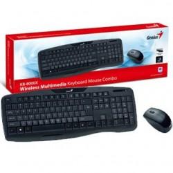 GENIUS - KB-8000X SK-CZ bezdrôtový set klávesnica+ 31340005106