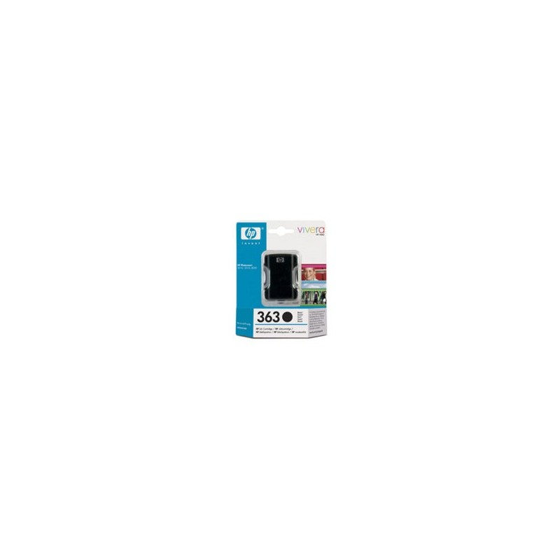 HP Cartridge C8721 EE BLACK 363 6ml C8721EE