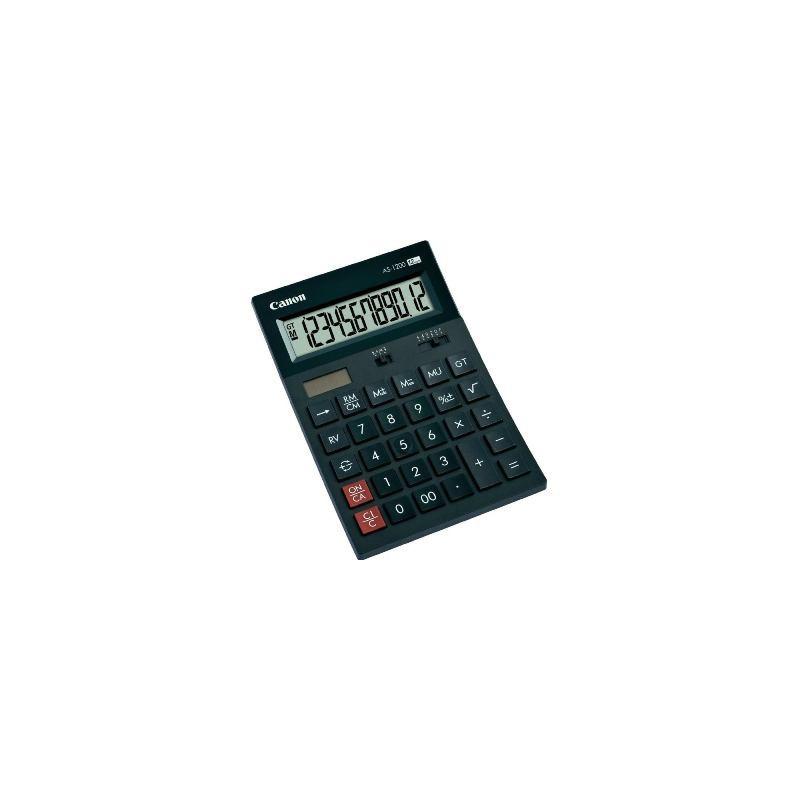 Canon AS-1200 12-číslicová polo-stolová kalkulačka 4599B001