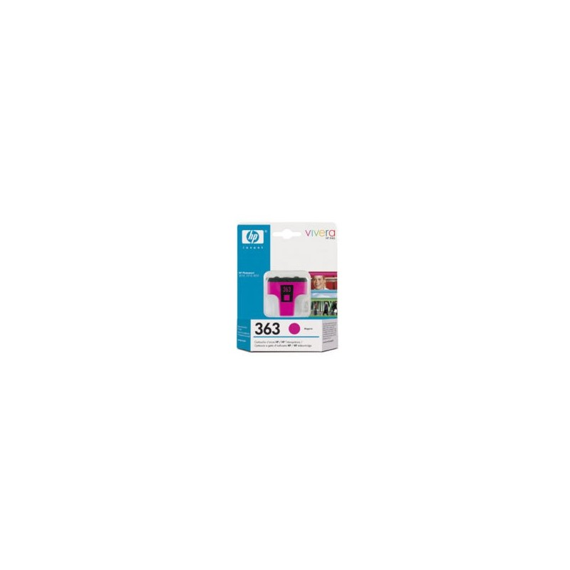 HP Cartridge C8772EE MAGENTA 363 3.5ml