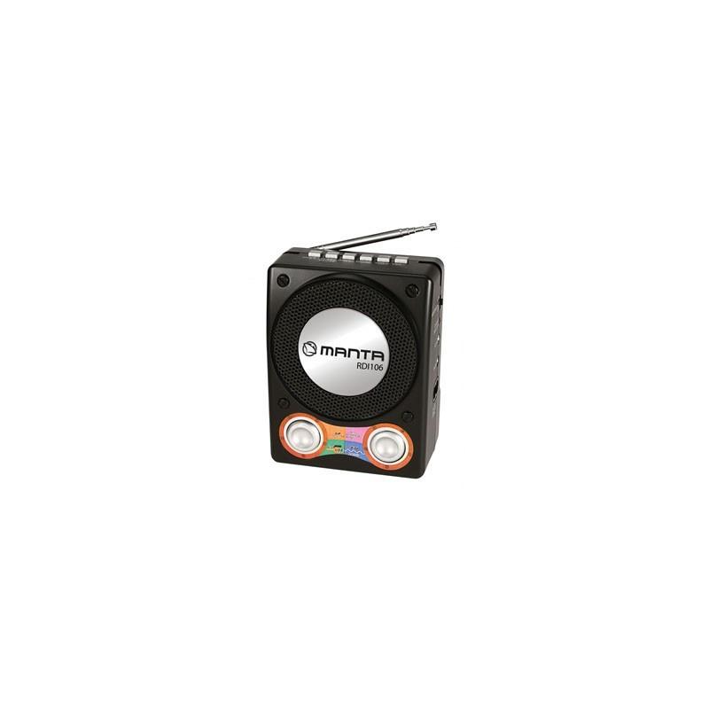MANTA Rádio/MP3 prehrávač JOY RDI106
