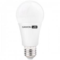 Canyon LED COB žiarovka, E27, guľatá, mliečna, 9W, 806 lm, teplá biela 2700K, 220-240V AE27FR9W230VW