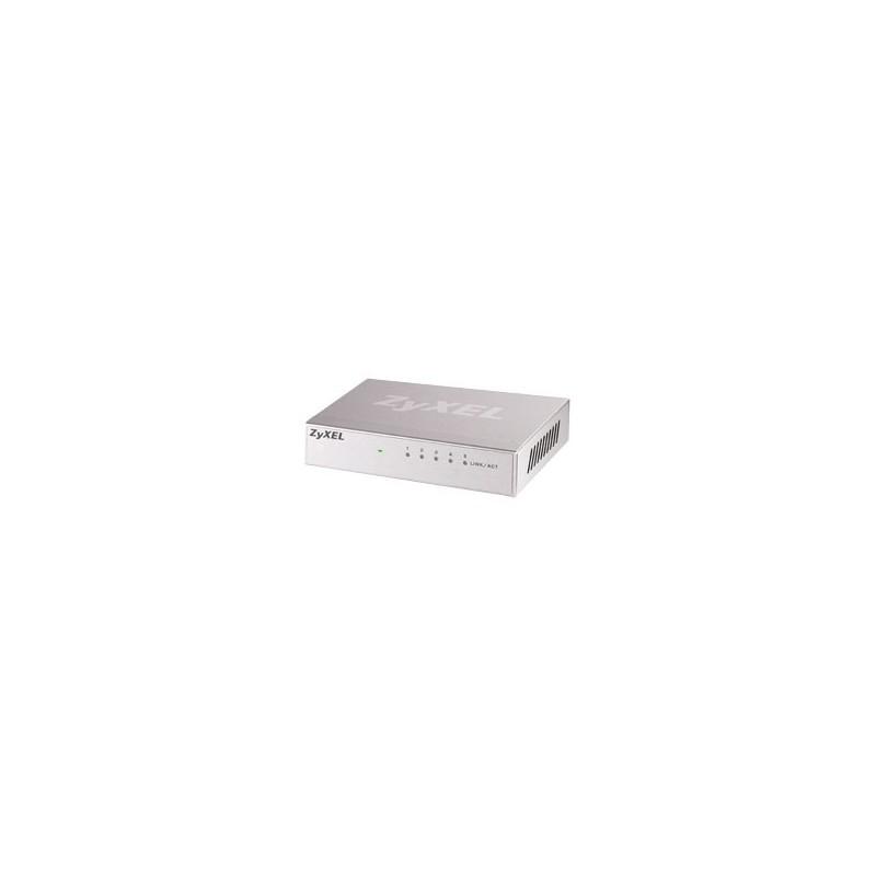 ZyXEL GS-105B, 5p Gbit switch (5x10/100/1000, desktop) GS-105BV3-EU0101F