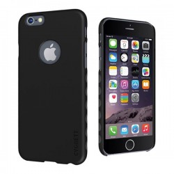 Cygnett, obal AeroGrip Feel pre iPhone 6/6S, čierny CY1660CPAEG