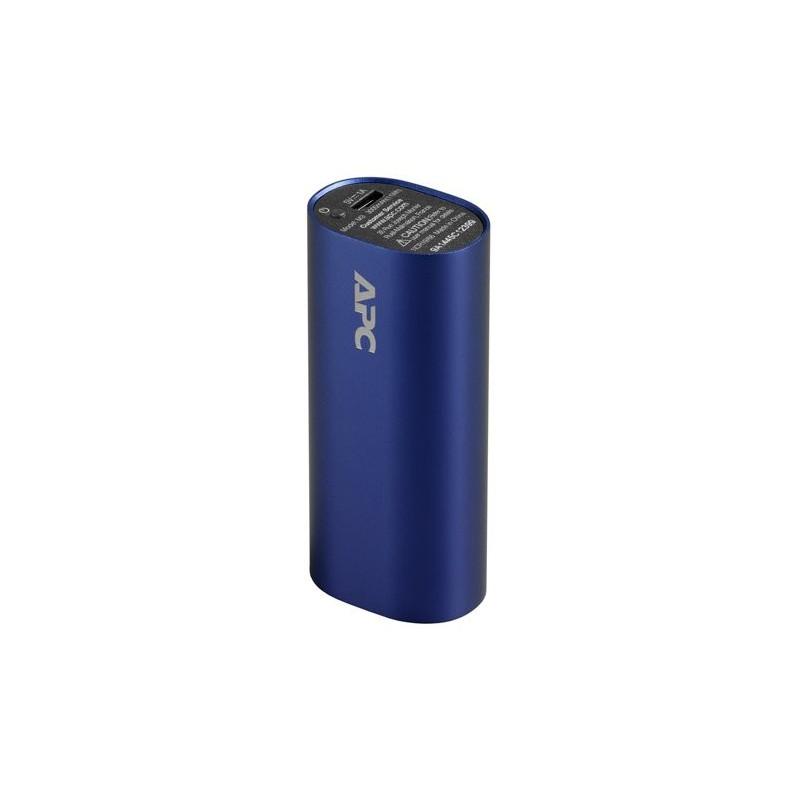APC Mobile Power Pack, 3000mAh Li-ion cylinder, Blue ( EMEA/CIS/MEA) M3BL-EC
