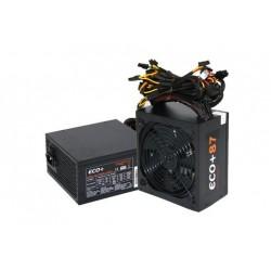 Zdroj 600W, ECO+87 ATX-600WA-14-85(87), APFC, eff. 87, 14cm ventilátor, bulk