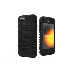 Cygnett, obal Bulldozer pre iPhone 5/5S/SE, odolný, silikónový, čierny CY0871CPBUL