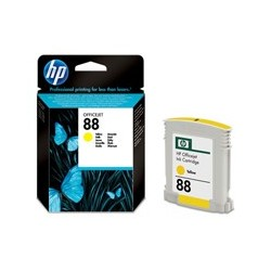 HP Cartridge C9388AE 88 Yellow Officejet Ink