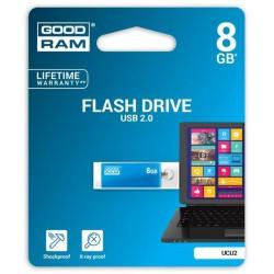 8 GB USB kľúč GOODDRIVE CUBE Modrá UCU2-0080B0R11