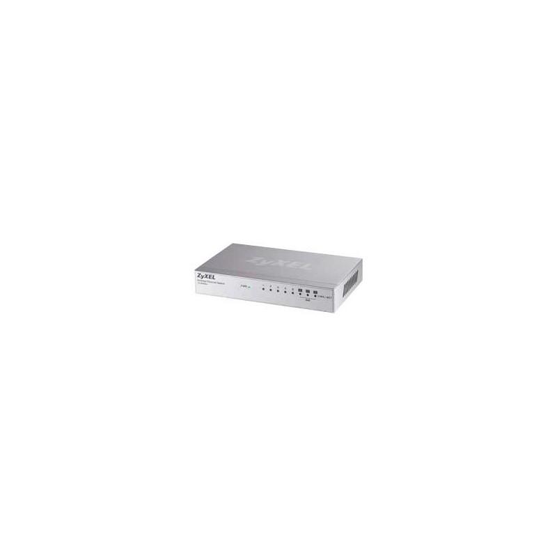 ZyXEL ES-108A, 8p switch (8x10/100, 3xQoS, metal housing) ES-108AV3-EU0101F