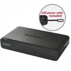 Edimax ES-5800G v3 switch 8x 10/100/1000Mbps desktop (usb cable) ES-5800G V3