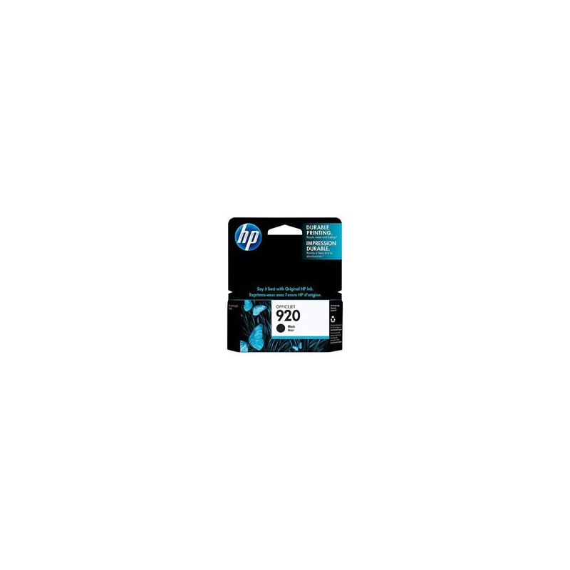 HP Cartridge CD971AE Black 920