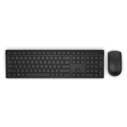 Dell Wireless Keyboard and Mouse-KM636 - Slovakian (QWERTZ) - Black 580-ADGE