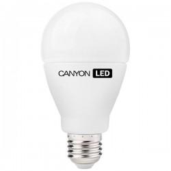 Canyon LED COB žiarovka, E27, guľatá, mliečna, 12W, 1.055 lm, teplá biela 2700K, 220-240V AE27FR12W230VW