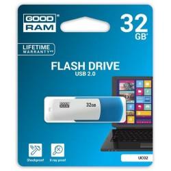32 GB USB kľúč GOODRAM COLOUR MIX modro-biela UCO2-0320MXR11