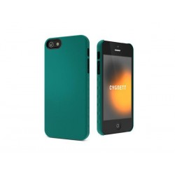 Cygnett, obal AeroGrip Feel pre iPhone 5/5S/SE, tmavozelený CY0831CPAEG