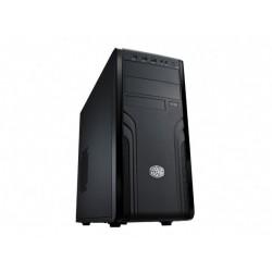 CoolerMaster case miditower Force 500, ATX, čierna, USB3.0, bez zdroja, príprava pre vodné chladenie FOR-500-KKN1