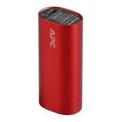APC Mobile Power Pack, 3000mAh Li-ion cylinder, Red ( EMEA/CIS/MEA) M3RD-EC