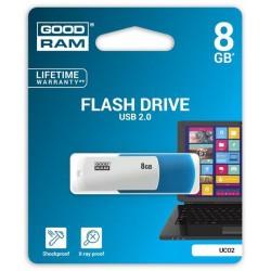8 GB USB kľúč GOODRAM COLOUR MIX Modro-biela UCO2-0080MXR11