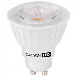 Canyon LED COB žiarovka, GU10, bodová MR16, 4.8W, 300 lm, teplá biela 2700K, 220-240V MRGU10/5W230VW38