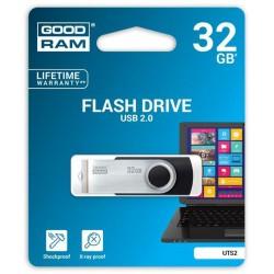 32 GB USB kľúč GOODRAM Twister Čierna UTS2-0320K0R11
