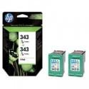 HP Cartridge CB332EE Color 343 balenie /2ks C8766