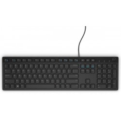 Dell Multimedia Keyboard-KB216 - Czech (QWERTZ) - Black 580-ADGP