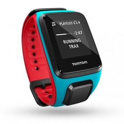 TomTom Runner 2 Music - blue/red (L) 1REM.001.00