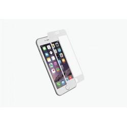Cygnett 3D Temperované sklo 9H RealCurve pre iPhone 7 Plus, na celý displej a okraje, priehľadný/biely CY1992CPTGL