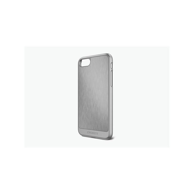 Cygnett, obal UrbanShield Aluminium pre iPhone 7, hliník, strieborný CY1969CPURB