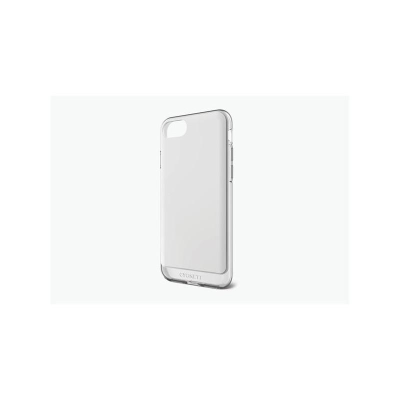 Cygnett, obal AeroShield Clear pre iPhone 7, biely CY1976CPAEG