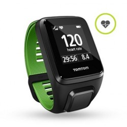 TomTom Runner 3 Cardio - black/green (L) 1RK0.001.00