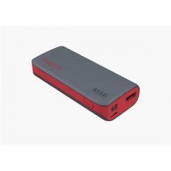 Cygnett Charge Up Sport 4.400mAh Powerbank 1 USB Port/1.0A šedo-červená CY1421PBCUS