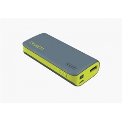 Cygnett Charge Up Sport 4.400mAh Powerbank 1 USB Port/1.0A, šedo-zelená CY1443PBCHE